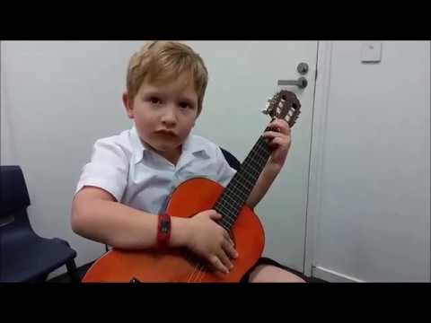 Teaching the Very Young Guitarist can be Fun, Fruitful and Rewarding.