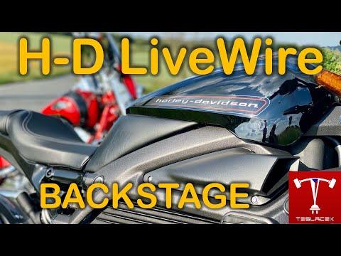 #202 Harley Davidson LiveWire BACKSTAGE - Trailer | Teslacek