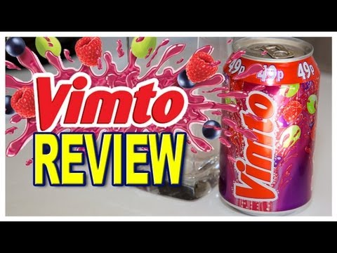 Vimto Soft Drink Review from Sweets Instore Newmarket, Ontario