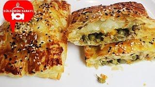 TALAS BÖREGi / Tavuklu börek / milföy börek / yufka böregi / börek / gülsümün sarayi