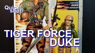 HCC788 - Quick shot! 1988 Tiger Force DUKE! vintage G. I. Joe toy! HD