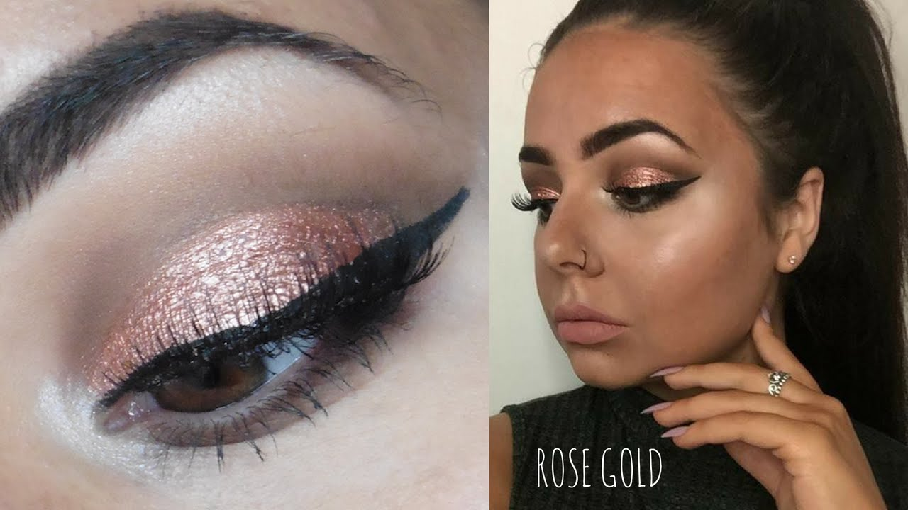 Rose Gold Kylie Jenner Makeup Youtube