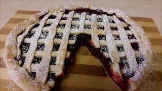 ПИРОГ рецепт Простой рецепт пирога с ВИШНЕЙ Очень вкусный ВИШНЕВЫЙ ПИРОГ