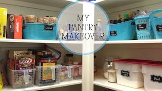 Repeat youtube video My Pantry Makeover using Dollar Tree Containers