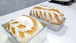 Pão Rustico Sistema Autólise E Dobras