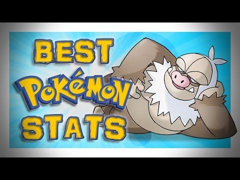 Best Pokemon Stats