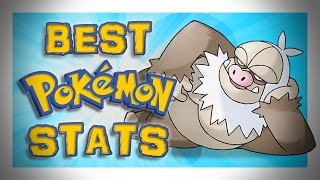 Best Pokemon Stats
