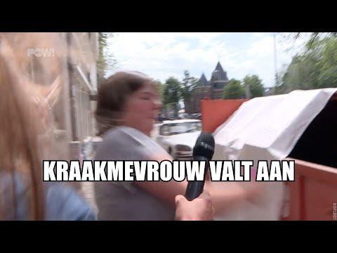 Krakers woest op gemeente Amsterdam