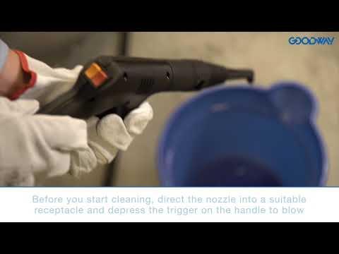 Goodway Technologies GVC-1502 Steamer Start-Up Video