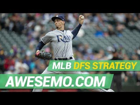 MLB DFS STRATEGY - TUE 9/17 - DRAFTKINGS FANDUEL YAHOO