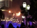 Raw: Fire Strikes Vegas' Bellagio