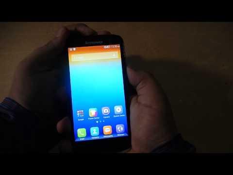 Lenovo A859 - How to take a screenshot