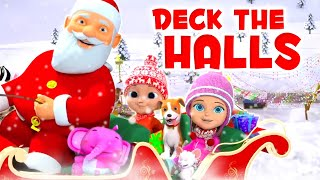 Deck The Halls | Nursery Rhymes & Kids Songs | Christmas Songs for Babies by Little Treehouse