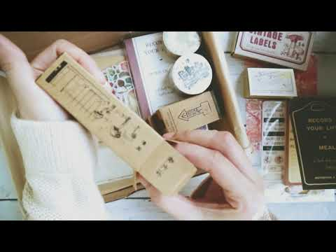 Your Creative Studio July Unboxing - Vintage Stationery