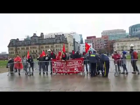 May 3rd, Ottawa Free Speech Rally Proudboys, SOO vs Antifa