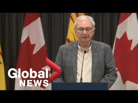 Coronavirus Outbreak: New Brunswick Government Updates Latest COVID-19 Cases | FULL