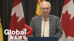 Coronavirus outbreak: New Brunswick government updates latest COVID-19 cases | FULL