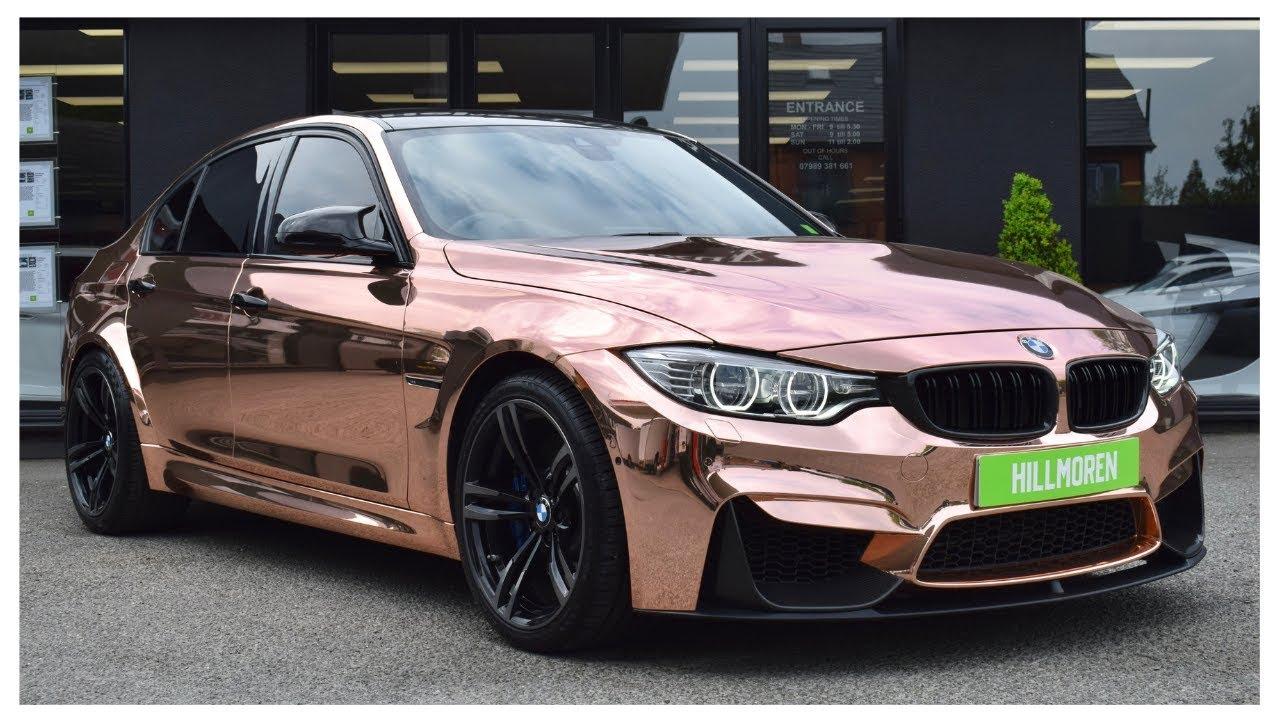 Bmw M3 2020 Gold