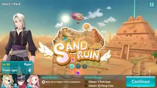 Pangya Mobile - 3 Stars Guide - Sand Ruin 3