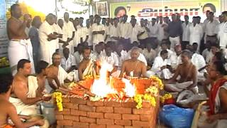 Navagraha Maha Yagam for Puratchi Thalaivi AMMA