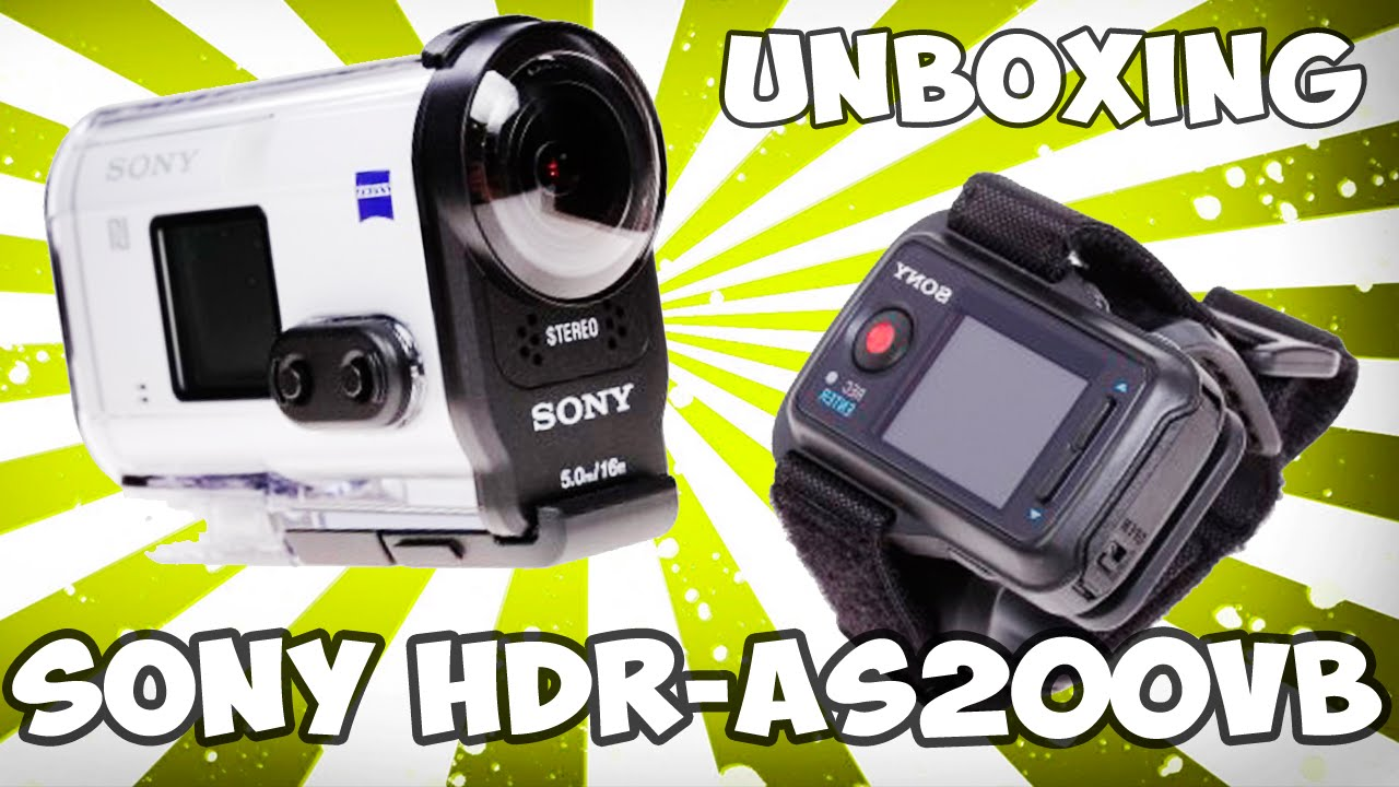 Sony HDR-AS200VB Action Camera Treiber Windows 7