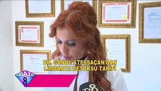 Doktor Gönül Ateşsaçan'dan 1 Haftada 6 Kilo Verdiren Detoks Tarifi