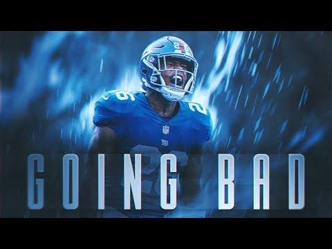 Saquon Barkley ft. Meek Mill & Drake - GOING BAD (2018 Giants Highlights) ᴴᴰ