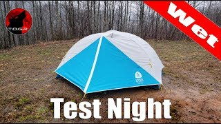 Test Night Returns! - Sierra Designs Clearwing 2 Tent