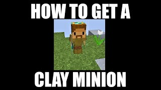 How to get clay minion Hypixel Skyblock