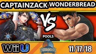 DHATL18 Smash 4 - CaptainZack (Bayonetta) Vs. Rectify | WonderBread (Little Mac) - Wii U Pool B - WF