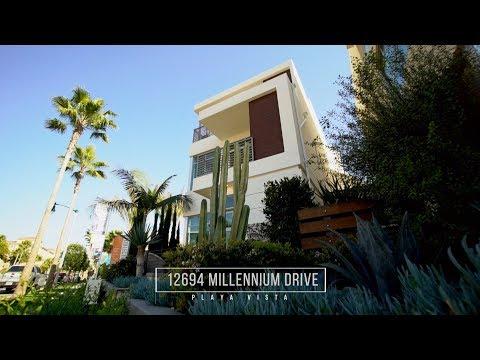 Three Level Luxury Residence in Playa Vista