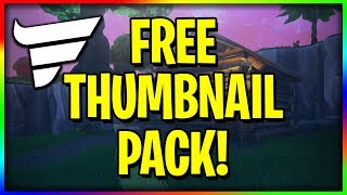 1.3K SPECIAL - FREE PHOTOSHOP THUMBNAIL PACK! (Fortnite Thumbnails)