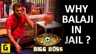 Bigg Boss 2: Why Is Balaji In Jail ? | Janani Iyer | Yashika Anand | Mahat | Daniel | Mumtaj
