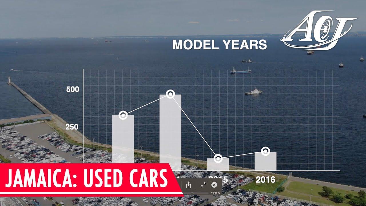 Used Cars Jamaican Market Report Autocom Japan Youtube