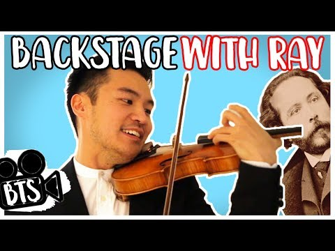 Backstage with Ray Chen: San Francisco Symphony