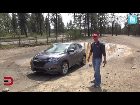 Mud Puddle Driving in 2016 Honda HR-V 4WD on Everyman Driver