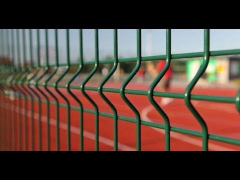 Забор из сетки - Как выбрать ограждение?