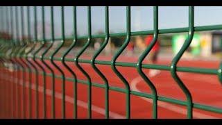 видео Сварные заборы из 3d сетки и панелей: установка его своими руками