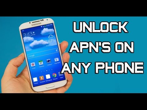 How to Unlock APN's on Any Android Phone (Root Required)