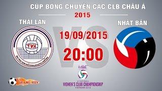 thai lan vs nhat ban - chung ket cup bong chuyen chau a 2015