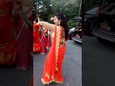 Sarmila and Sanjita  teej dance 2017 in USA thumbnail