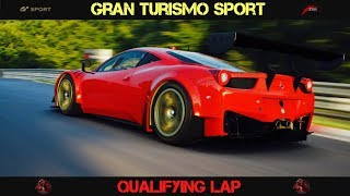 GT Sport - Race With GT Academy Graduates Qualification Lap