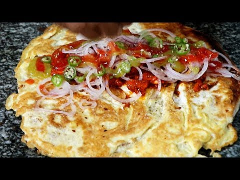 Chicken kathi roll with two eggs indian street food youtube chicken kathi roll with two eggs indian street food forumfinder Image collections