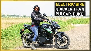 SVM Prana Electric Bike Review: A 'Silent' Threat to 150-200cc Bikes?