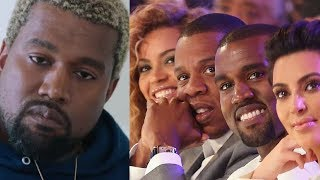 Kanye West OPENS UP about why JAY Z and BEYONCE didn't come to his Wedding with KIM KARDASHIAN!