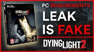 Dying Light 2 - PC Requirements Leak | News 2021