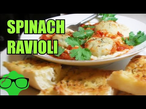 How to Make: Spinach Ravioli – Vegetarian/Vegan Friendly Recipe.