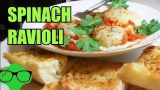 How To Make: Spinach Ravioli - Vegetarian/vegan Friendly Recipe.