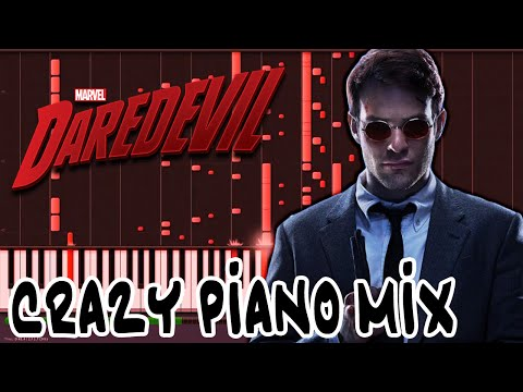 Crazy Piano! Marvel DAREDEVIL Netflix THEME