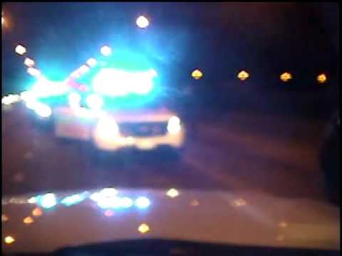 View from CPD Officer Jason Van Dyke's dashcam